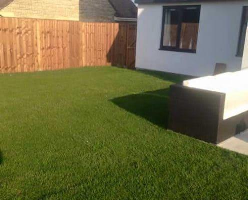 New rear lawn install Cheltenham
