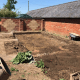 R Lugg Landscaping and Gardening Services Tewkesbury landscaping project dig out base for concrete base
