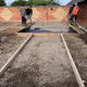 R Lugg Landscaping and Gardening Services Landscaping projects concrete base preparation Tewkesbury