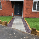 Stone paved pathway on house in Gloucester