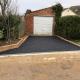 New driveway in front of garage Cheltenham