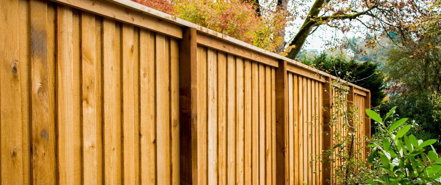 Tewkesbury fence installation by R lugg Landscaping and gardening services