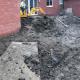 New build Garden Design bishops cleave the dig