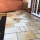 Cheltenham New build Garden Design sandstone patio