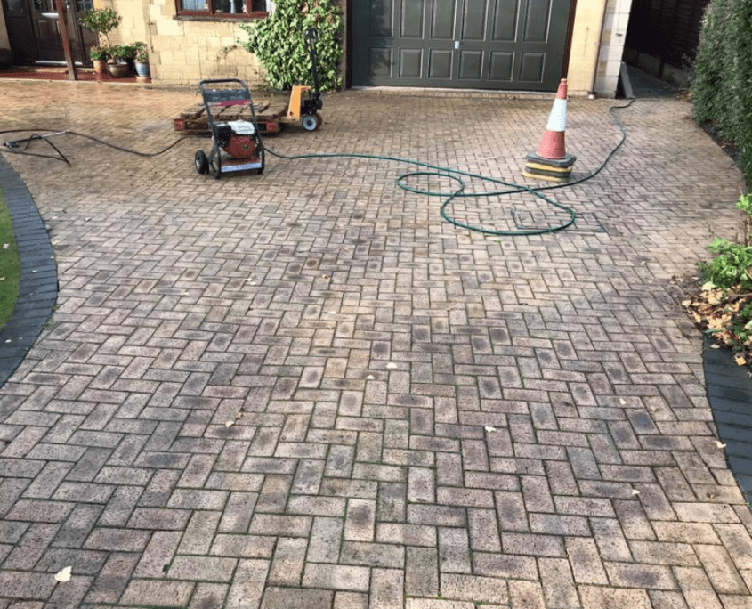 New driveway project gloucestershire